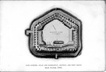Fort Sumter, 1865, plan and horizontal section-six feet about high water