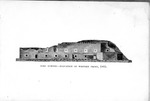 Fort Sumter, 1865, elevation of western front