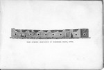 Fort Sumter, 1865, elevation of northern front
