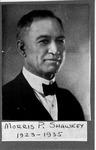 Morris P. Shawkey, 1923-1935, President of Marshall