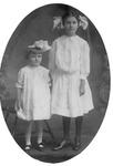 Virginia Burks and Sallie Lewis Marrow, July 6, 1910
