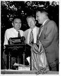 l. Joseph McCarthy, Ira P. Hager(?), Chapman Rivercomb