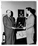 W. Archibald (Arch) Wallace, one of first photographers here with Bill Kinnaird