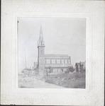 Congregational church, bef. 1900.