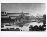 Ensign Manufacturing Plant in 1884 flood