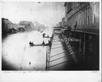 3rd Avenue, Huntington in 1884 flood