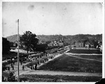 5th Ave, from Oley School looking North along 13th St, Huntington, 1889