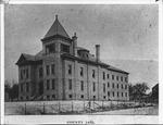 Cabell county jail, Huntington, W. Va., ca. 1890.