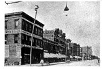 Third ave. looking east from 9th st., Huntington, W. Va., ca. 1890.