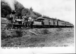 C&O-early Guyan Valley passenger train,c a. 1890's
