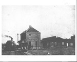 B&O and Ohio river Railroad station, Huntington, 1892