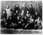 Huntington High School's 1st football team, 1895
