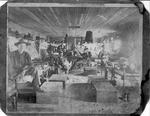 Soldiers in Barracks at Sullivan Island, S.C., Spanish-American War
