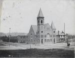 Central Christian church, ca. 1900.