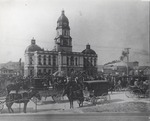 Cabell county courthouse, ca. 1901.