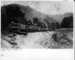 Work train, Guyan Valley Railroad, ca. 1902