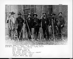 Surveying crew on Guyan Valley branch of C&O RR, 1902