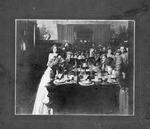 Girls' tea, probably 4th of July, Huntington,WVa, ca.1909