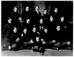 Huntington High School Football Team, 1910