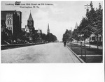 5th Ave, from 10th street looking west, Huntington,WVa, ca. 1910
