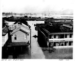 3rd Ave. and 22nd St., looking east from Arthur Hotel to AC&F Plant, March,1913 Flood