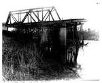 C&O Railway Bridge, Guyandotte, 1913 Flood