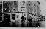 Fredrick Hotel, 10th St. and 4th Ave,1913 Flood