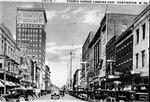 Fourth Avenue Looking East, huntington, W.Va., 1919