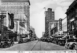 4th Ave from 10th Street, looking west, Huntington, W.Va., 1919