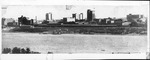 Huntington skyline & Ohio River from Chesapeake, Oh., 1920