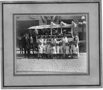 Parade wagon for Clara Nichols Private School & Kindergarten, ca. 1920