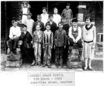 Ceredo Grade School, 5th Grade, 1928, Josephine Brown, teacher