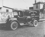 Fleckenstein's bakery delivery truck, ca, 1930
