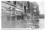 4th Ave. between Eighth and Nineth Streets during the 1937 Flood, Huntington, WVa