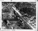 Aerial view,C & O Rwy shops, Huntington, W.Va