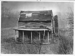 Old toll house, Barboursville, W. Va., ca. 1950.