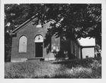 Bruce chapel, Mason Co., W. Va., 1953.