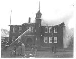 Ceredo Grade School fire, Feb. 14, 1957