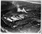 Aerial view of International Nickel Co. plant, Huntington, W.Va