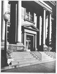 Entrance to Carnegie Public Library, 900 Fifth Ave, Huntington,WVa, ca.1960's