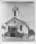 Bridge street Methodist church, ca. 1970.