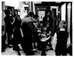 1970 Christmas party for children at the Cabell-Wayne Historical Museum