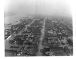Aerial view:Looking east on 4th Avenue, 1937 Flood