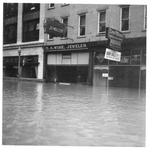 O.A. Wise Jewelry Store, Huntington, Wva,1937 Flood