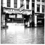Dean & Barry Paint Co., Huntington, Wva,1937 Flood