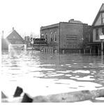 Spic n' Span Cleaners, Huntington, Wva,1937 Flood
