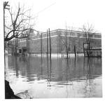 Laidley Hall, Marshall College,1937 Flood