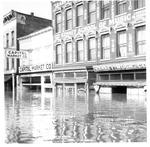 Capitol Market & Kenney Music Co., Huntington, Wva,1937 Flood