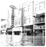 Gold Furniture & Monarch Cafe, Huntington,WVa, 1937 Flood