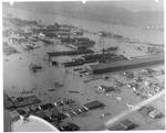 ACF plant, Ohio River in background, Huntington, Wva,1937 Flood